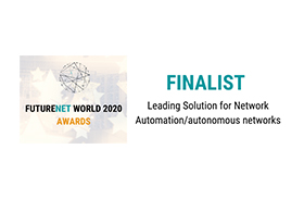 award 22 Polystar wins futurenet world 2020 – Leading Solution for Network Automation/autonomous networks