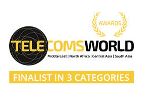 award 21 Polystar Telecomsworld 2020 finalist 3 categories